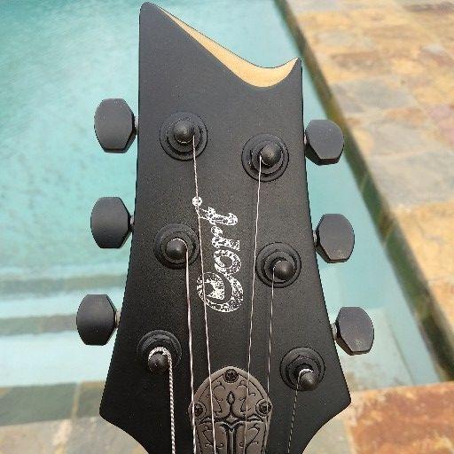 Black Cort Evil Series Electric Guitar
