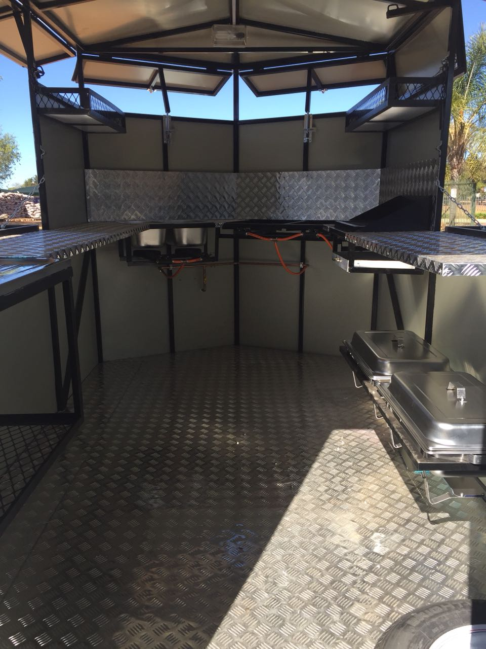 All new fast food trailer catering trailer mobile kitchen available