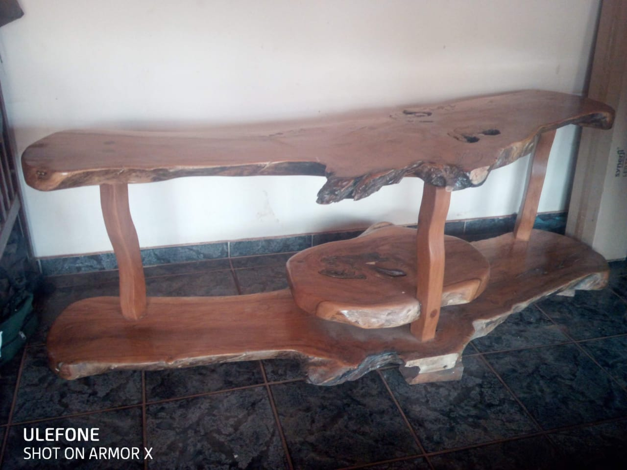 TV TABLE. minger wood