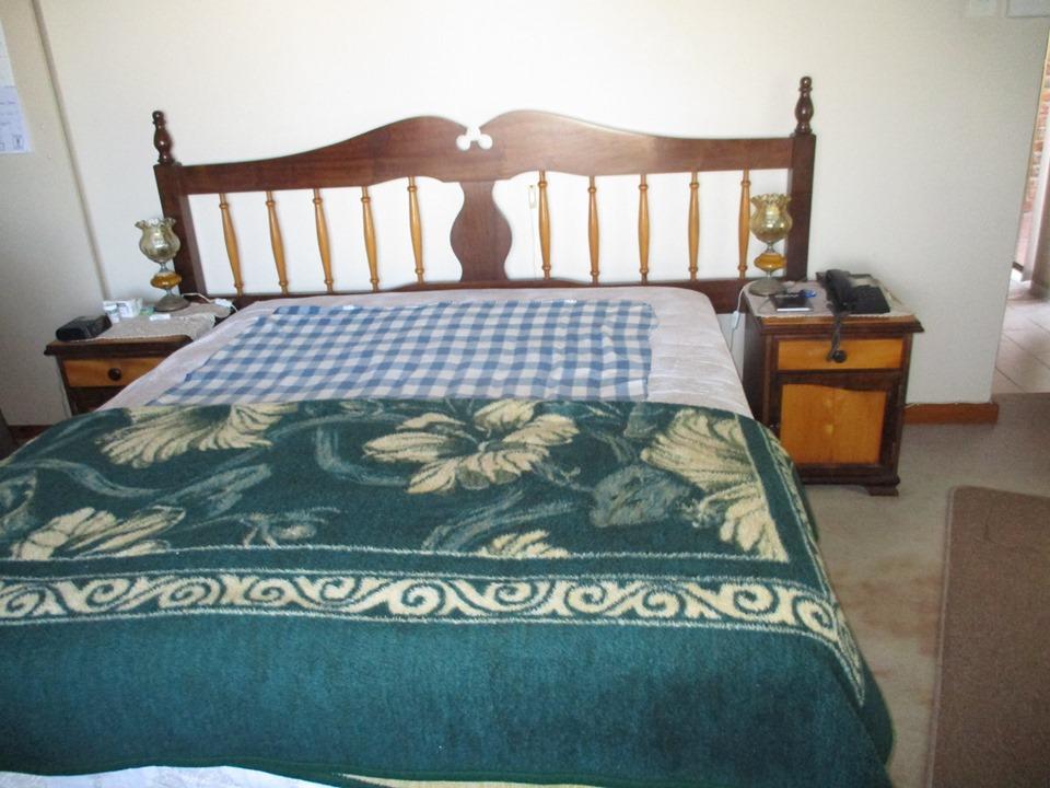 Embuia & yellow wood bedroom suite