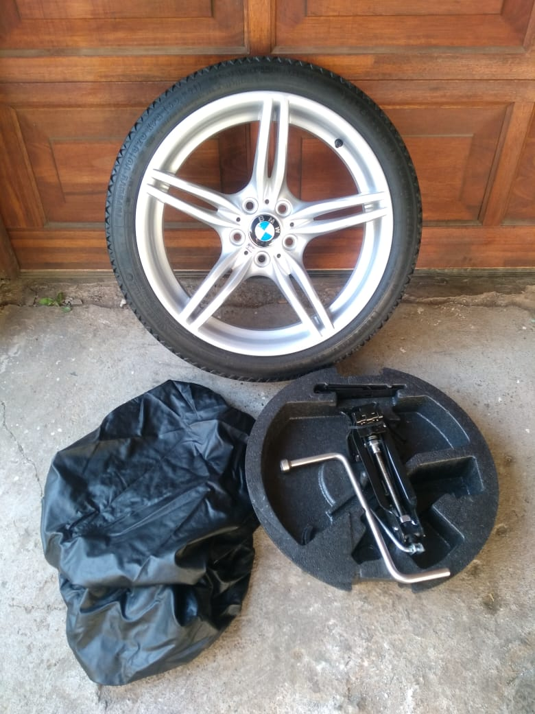 BMW F10 5 series 19 inch Biscuit Space Saver Spare Wheel with Accessories  R5500   Junk Mail