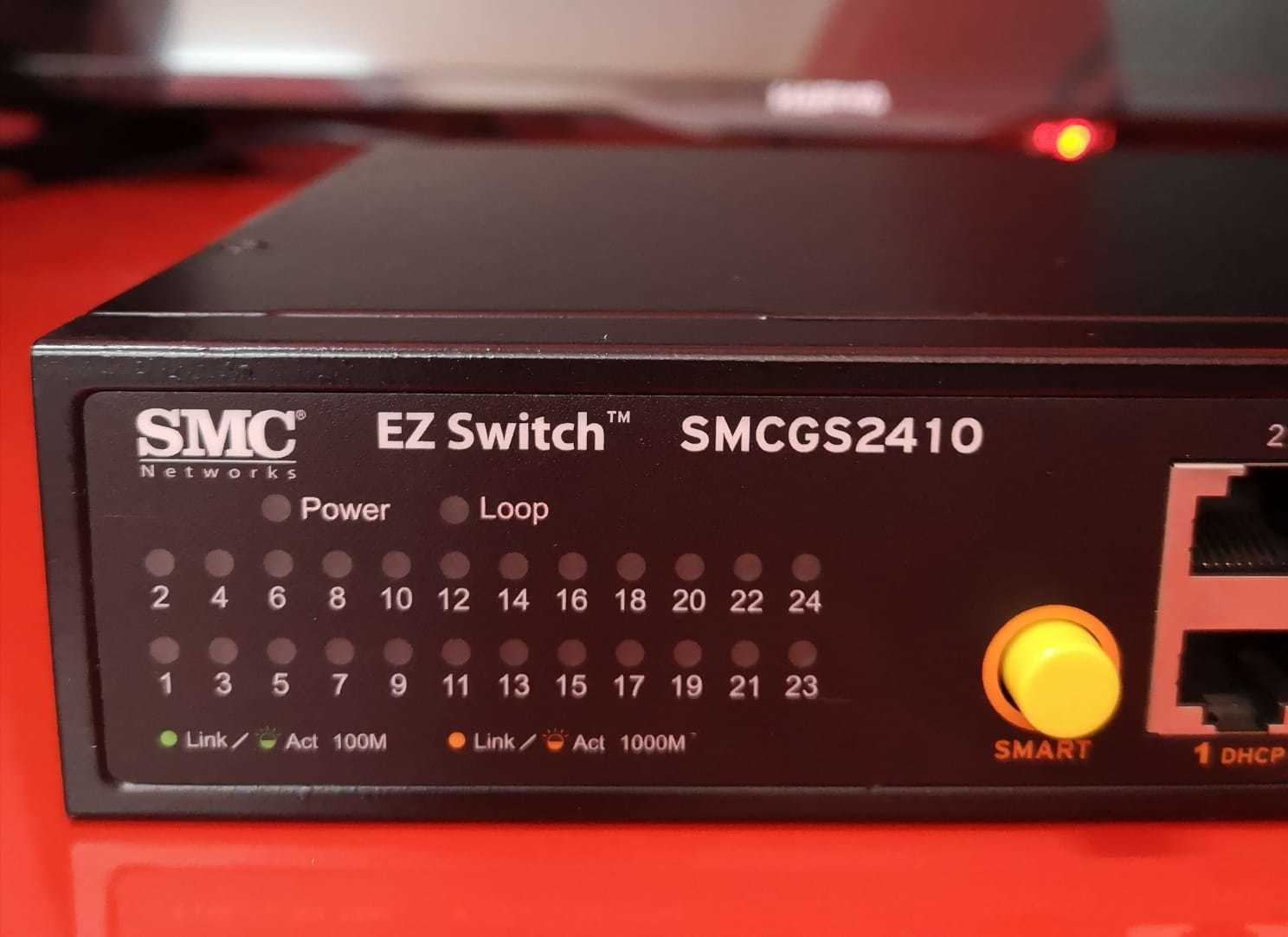 SMC 24 Port Network Switch