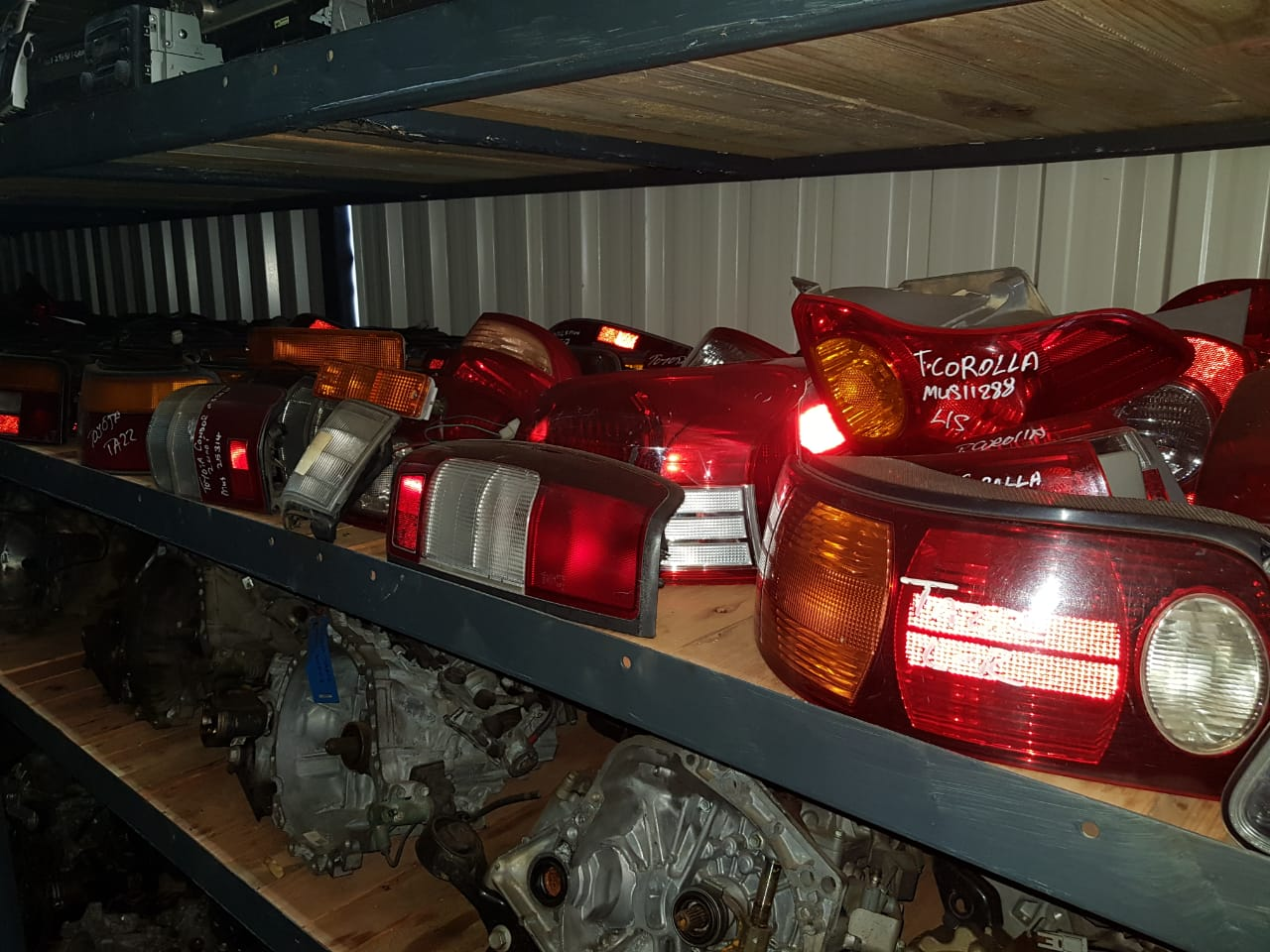 Various VW/TOYOTA/HYUNDAI/KIA/MERCEDES BENZ/BMW Tail Lights Available At DTB Spares