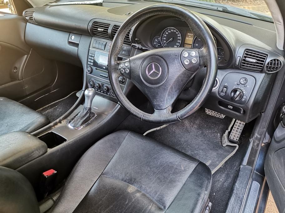 2007 Mercedes Benz C Class C230 V6 Sports Coupé Evolution 7G Tronic