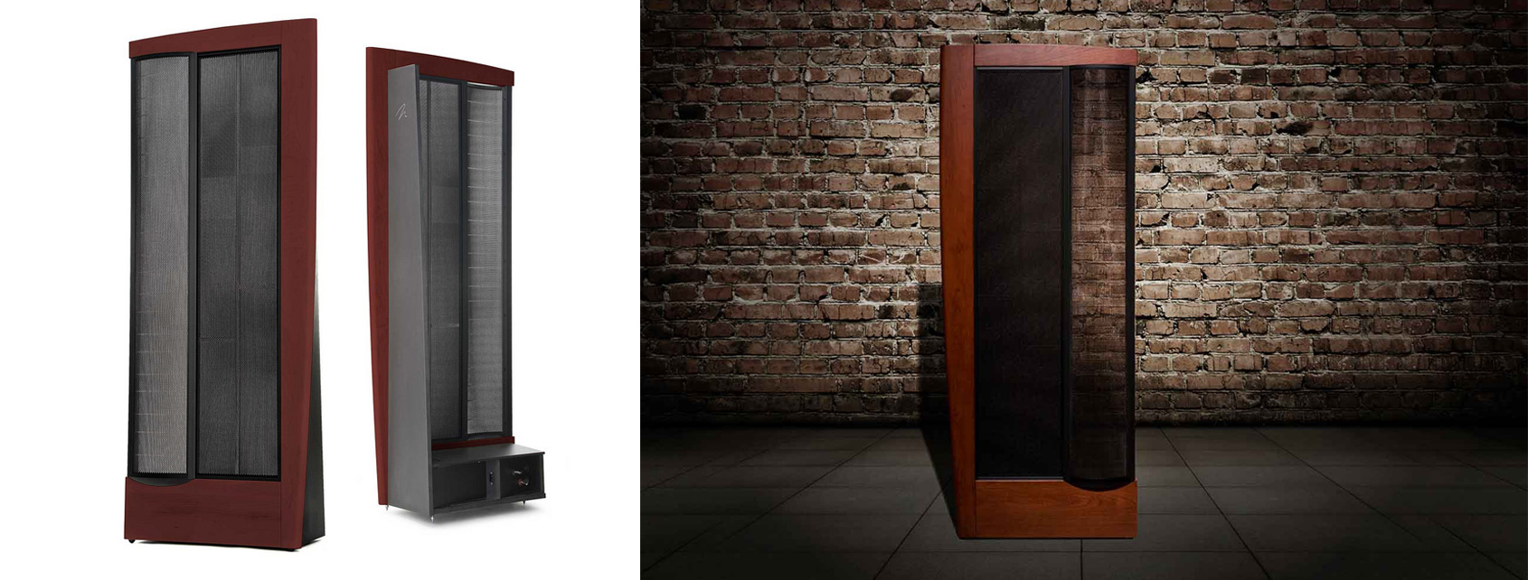 Martin Logan CLX electrostatic speakers