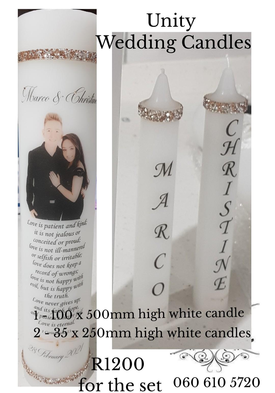 Unity Wedding Candles