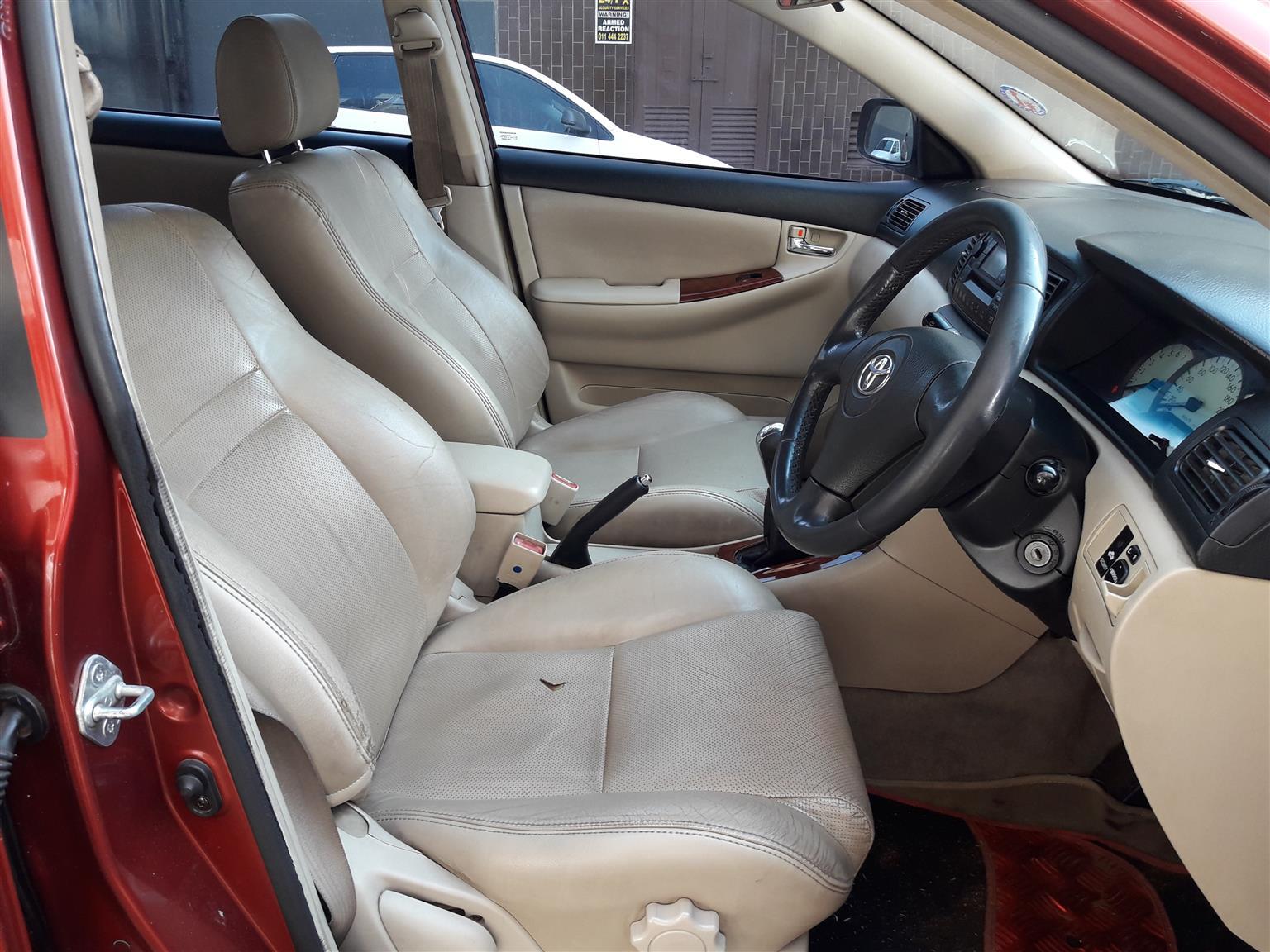 2004 Toyota Corolla 180i GSX