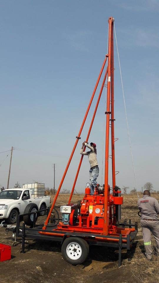 180m Depth Multifunctional Drilling Rig of Geothermal Well Used For  Irrigation As well