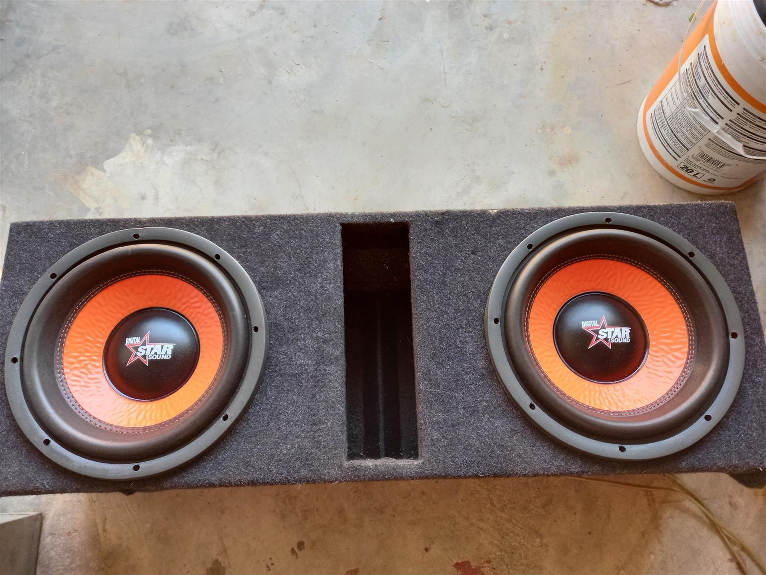 Starsound amp an subs sunwoofer