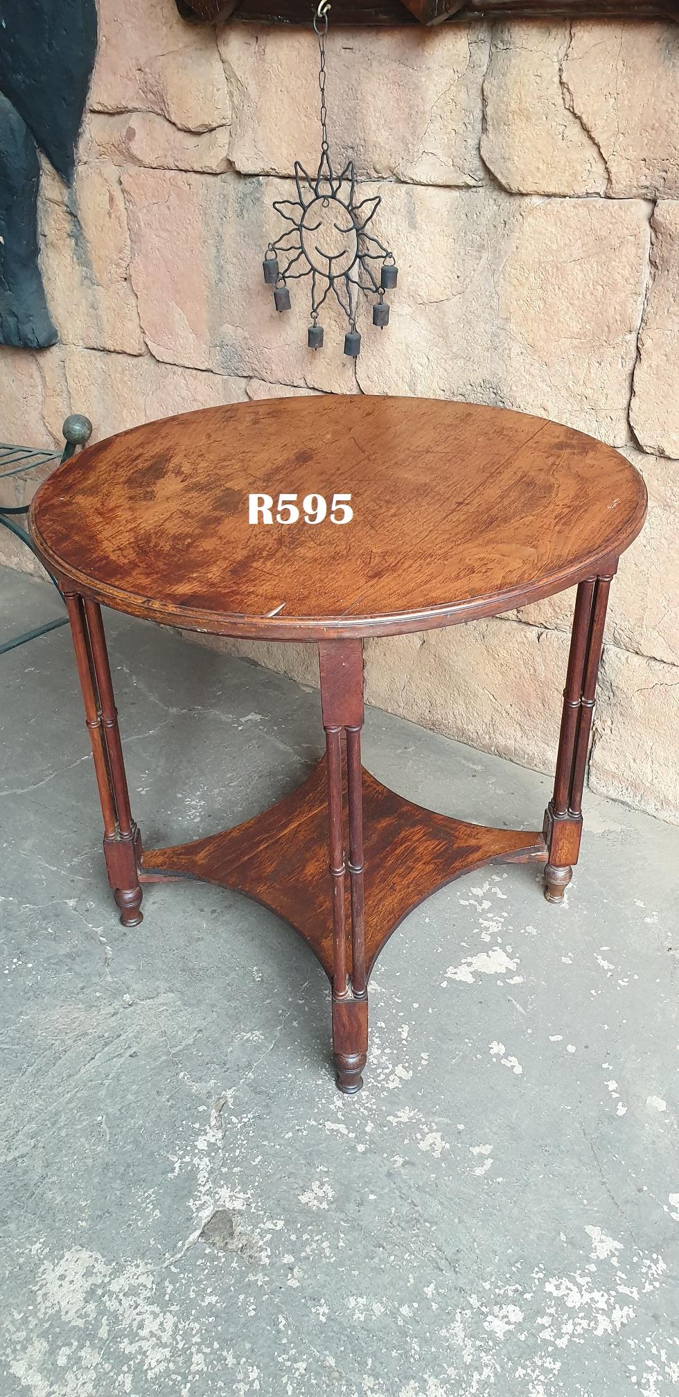 Classic Teak Round Coffee Table (D 755 H730)
