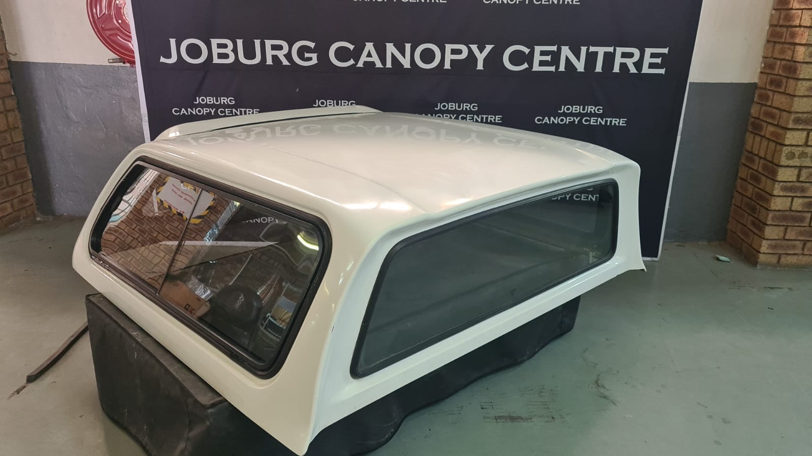 Toyota Hilux 2016 to 2021 DC White Beekman Canopy