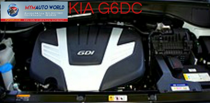 Imported used G6DC engine