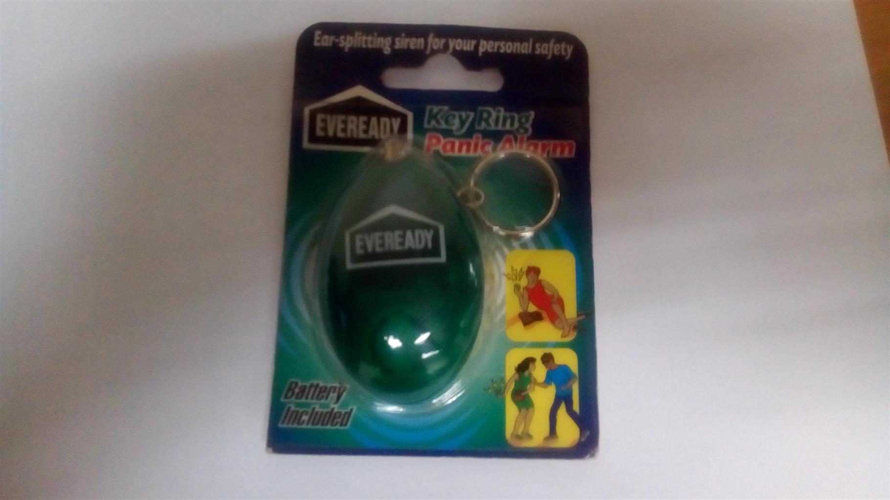 Eveready Key Ring Panic Alarm x 2 - New