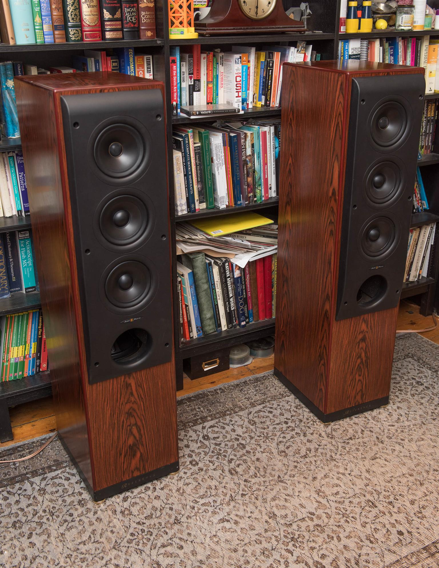 KEF REFERENCE MODEL 4 TOWER LOUDSPEAKERS