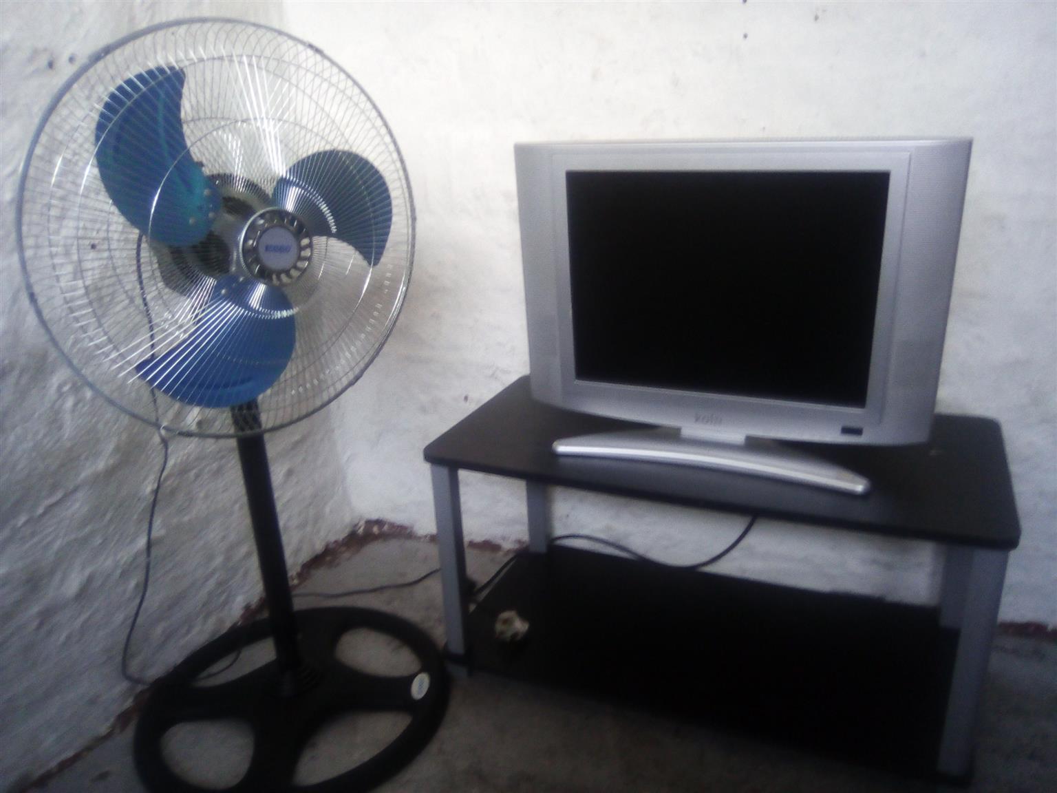 Tv,stand,fan