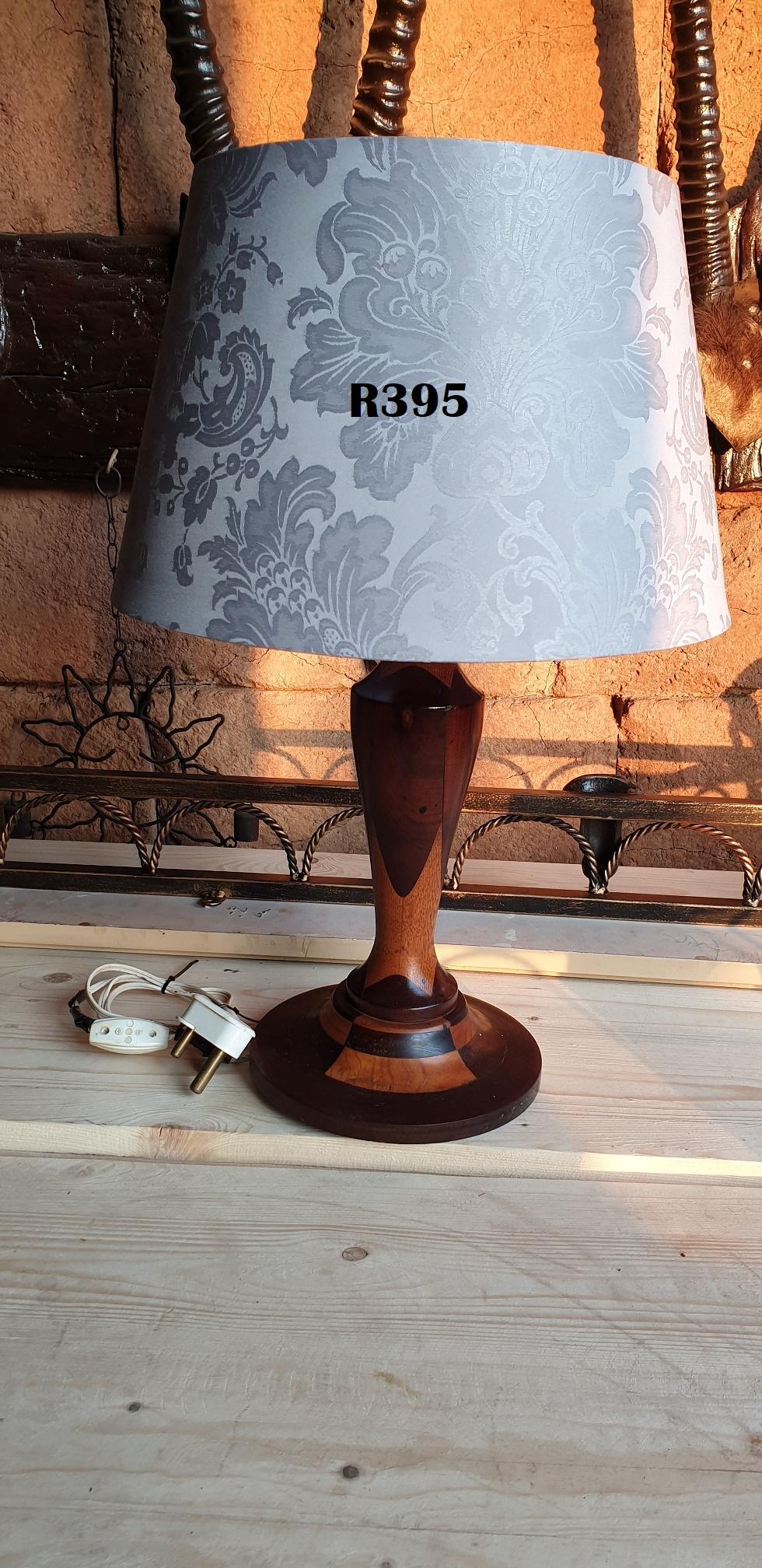 Classic Teak Lamp