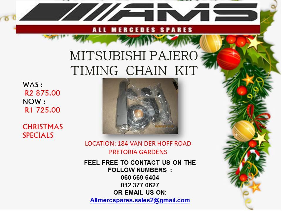 CHRISTMAS SPECIALS !!! MITSUBISHI PAJERO TIMING CHAIN KIT FOR SALE (SINGLE)