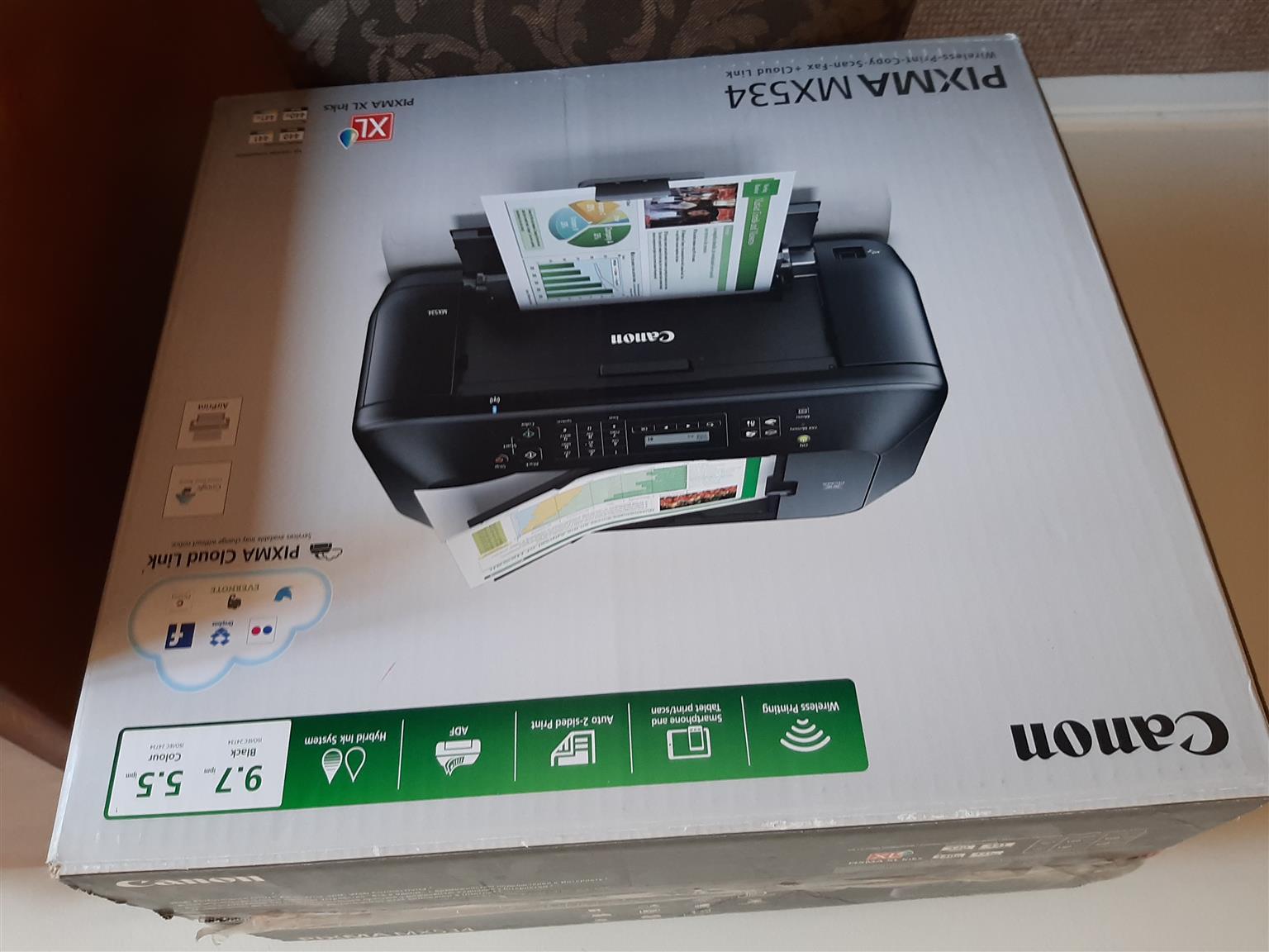 Canon pixma MX534 model printer