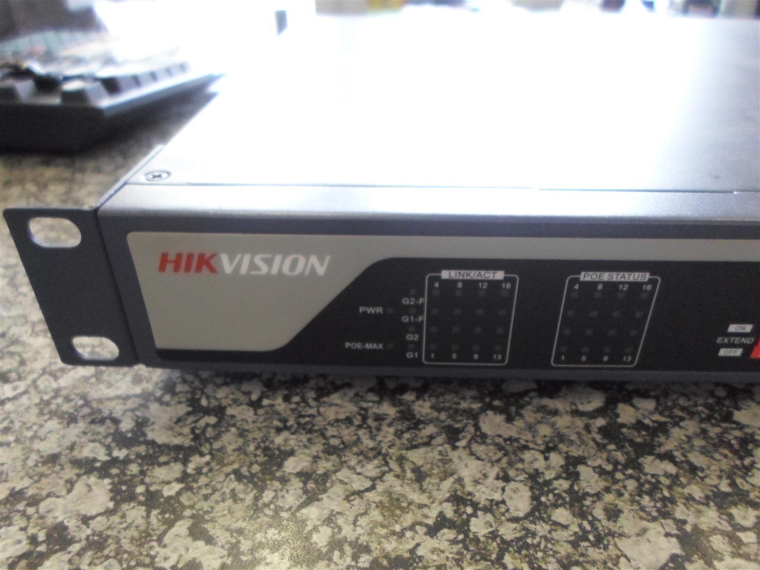 Hikvision Radio Control