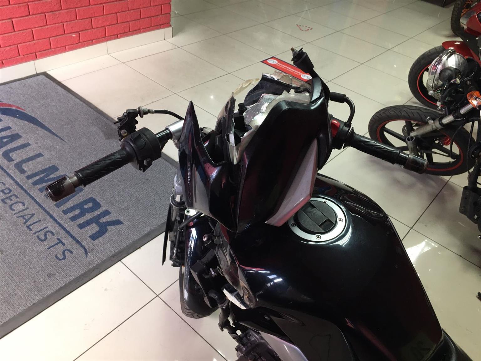 Accident damaged Suzuki GW250 for sale