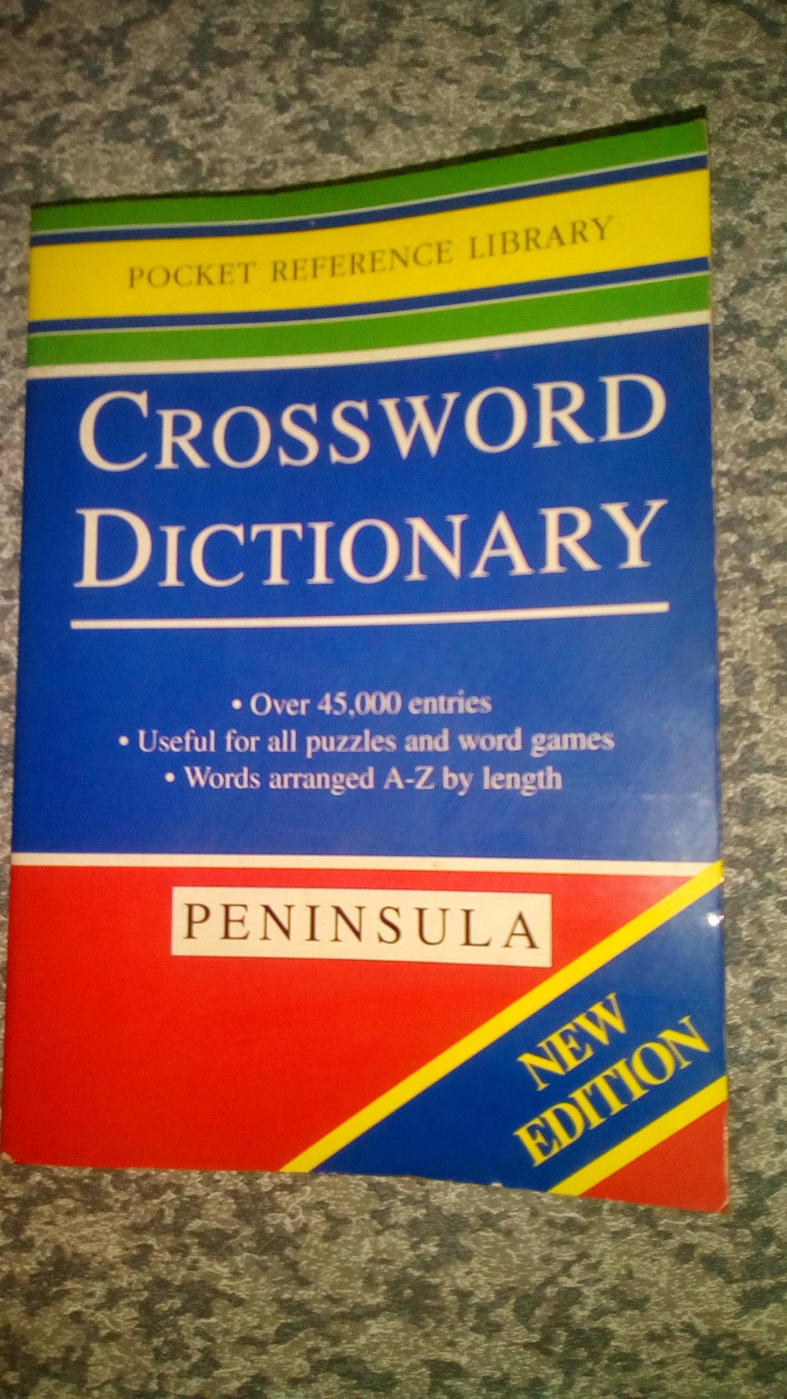Crossword Dictionary (Paperback)