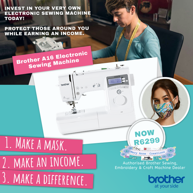 Brother A16  w/ Starter Pack Exclusive to Maryanne Creations, Get it Now so why wait