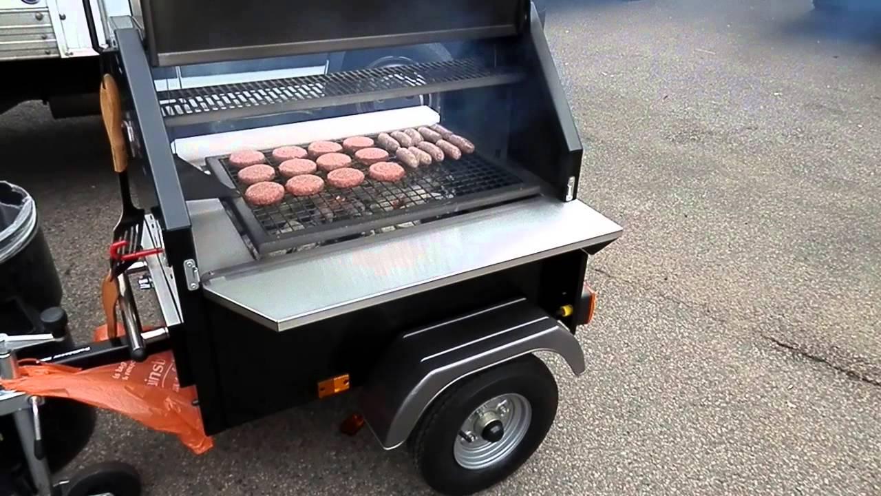 SFT BBQ Grill Trailer