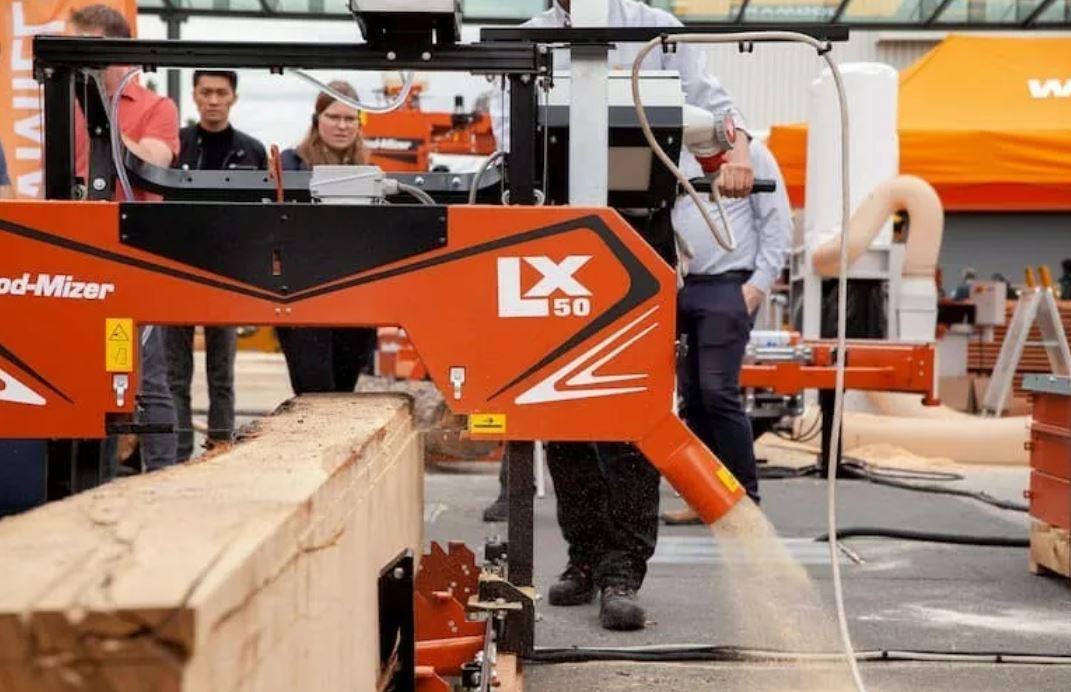 The NEW! Wood-Mizer LX50 Sawmill