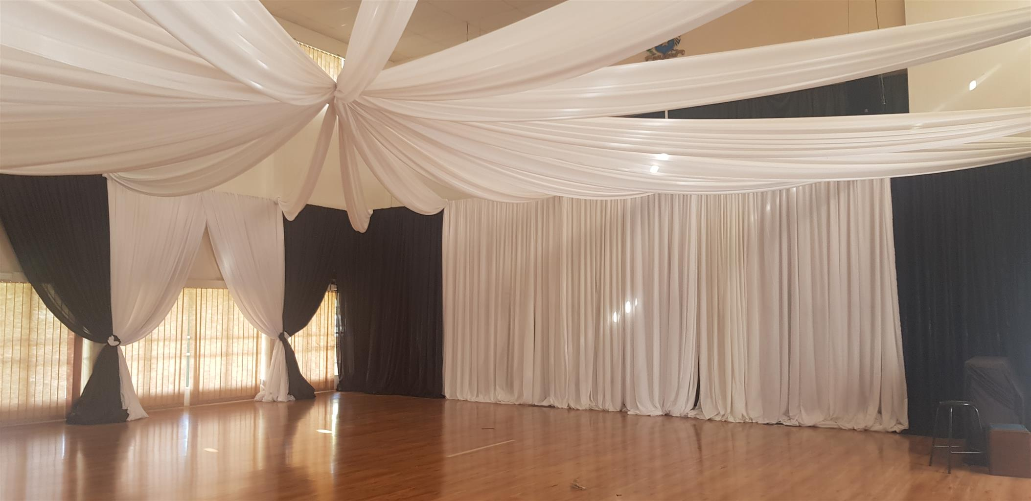 FUNCTION DECOR AND DRAPING BUSINESS FOR SALE