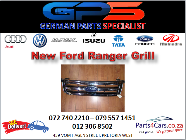 New Ford Ranger Grill for Sale