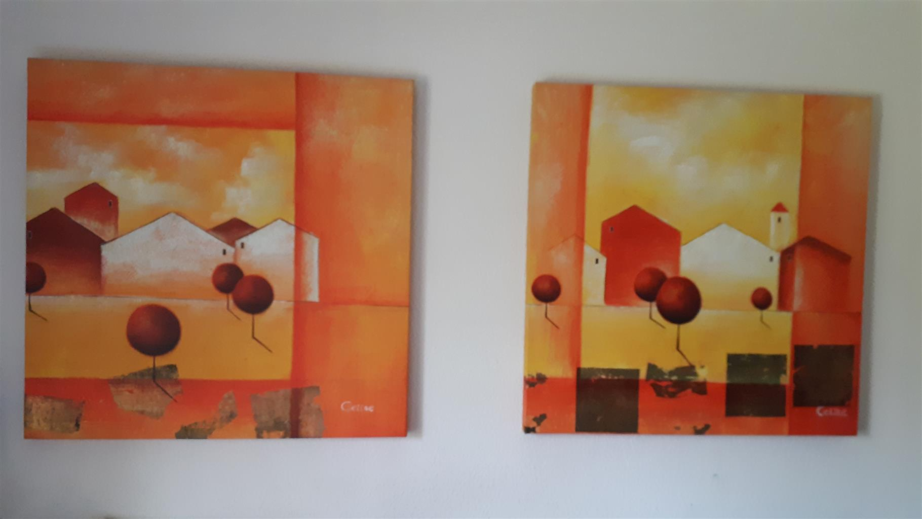 Blocked canvas  pictures for sale