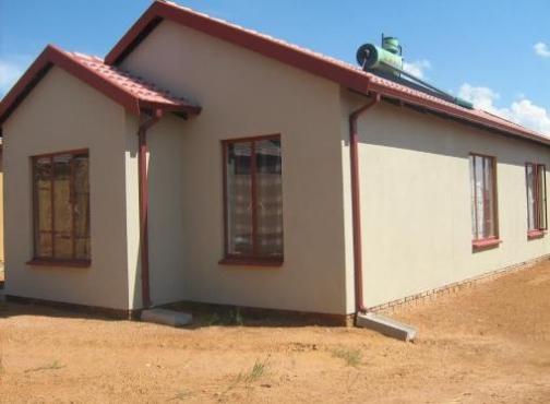 New house  in  soshanguve