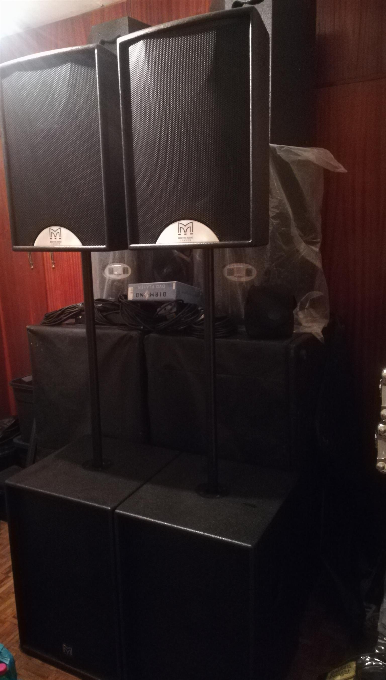 Martin audio Sound system
