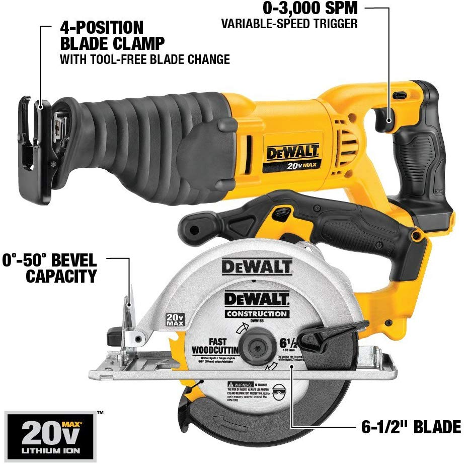 Brand new DEWALT 20V MAX Cordless Drill Combo Kit, 10-Tool kit