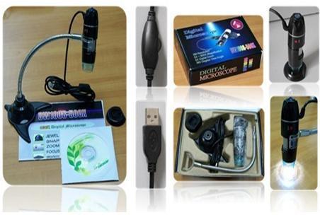 Digital microscope 500x magnification
