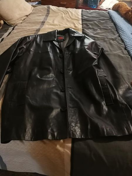 100% Cow Nappa Leeather jacket for sale
