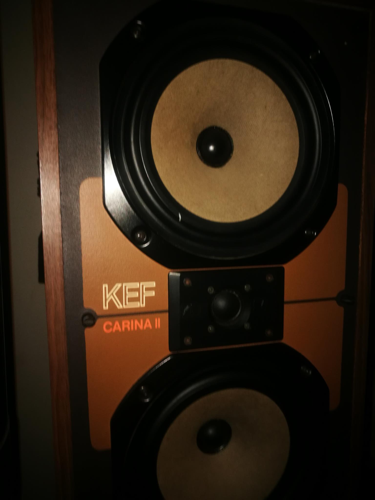 KEF Vintage CARINA 2 Speakers