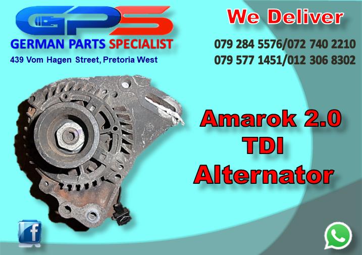 VW Amarok 2.0 TDI Alternator for Sale