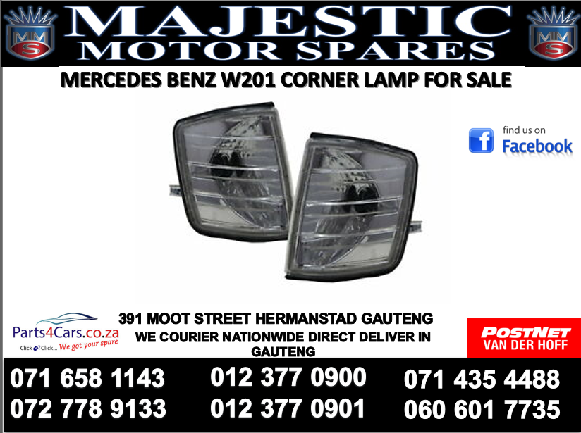 Mercedes benz w201 corner lamps for sale