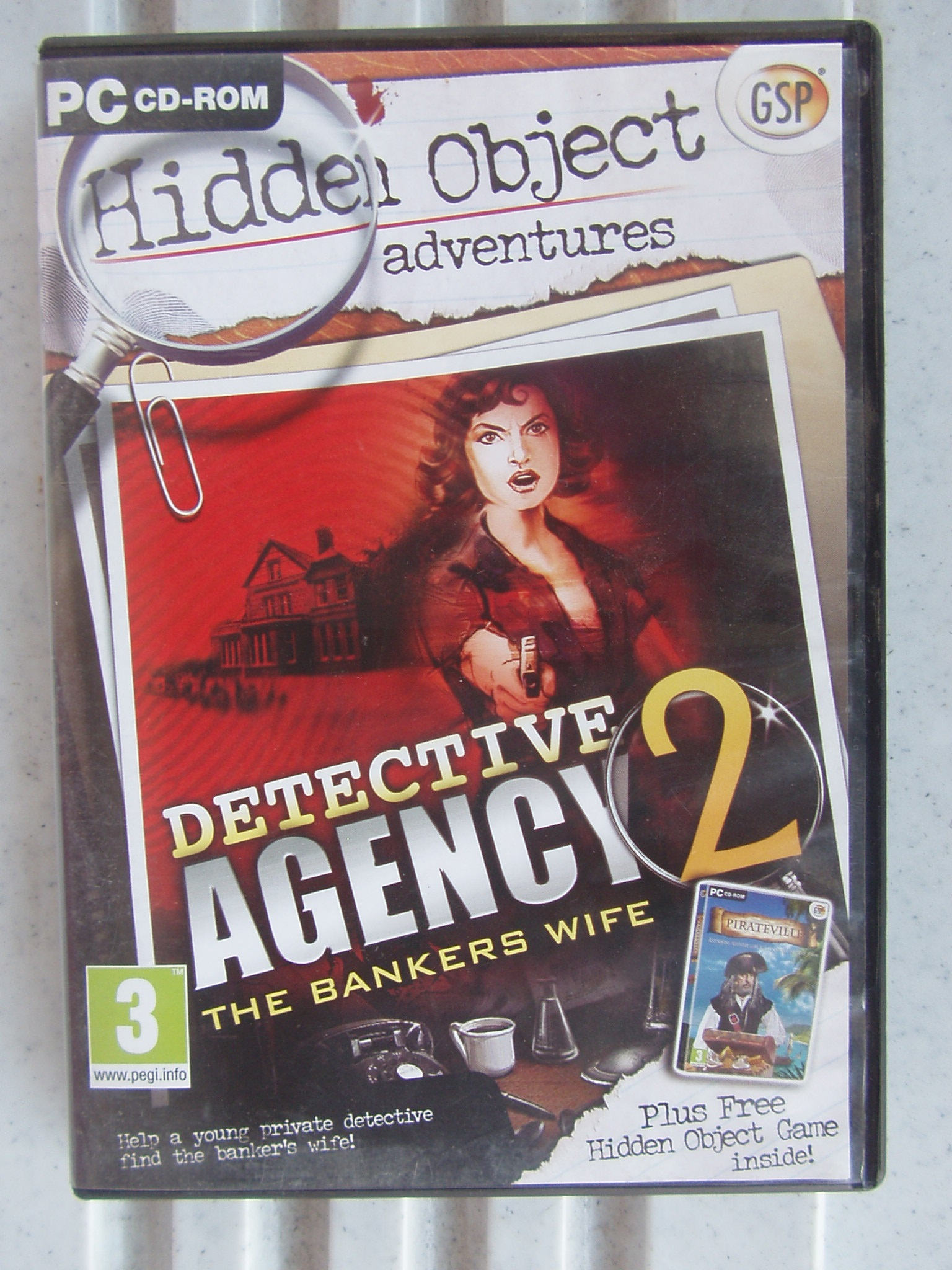 Detective Agency - PC CD- Rom Game