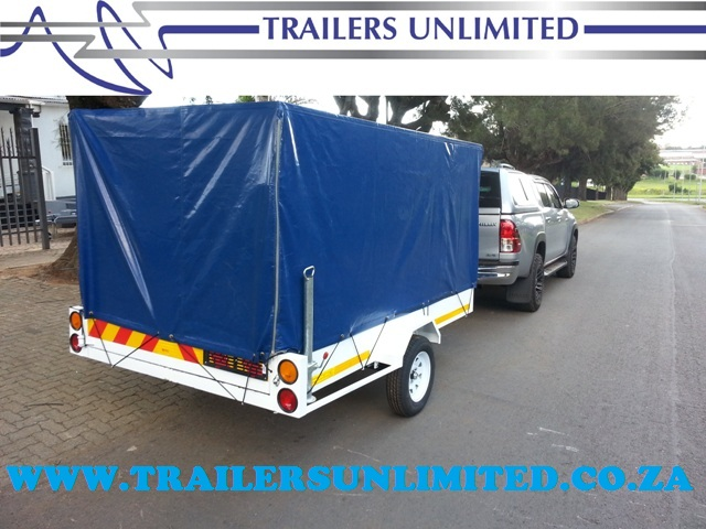 TRAILERS UNLIMITED UTILITY + PVC COVER.