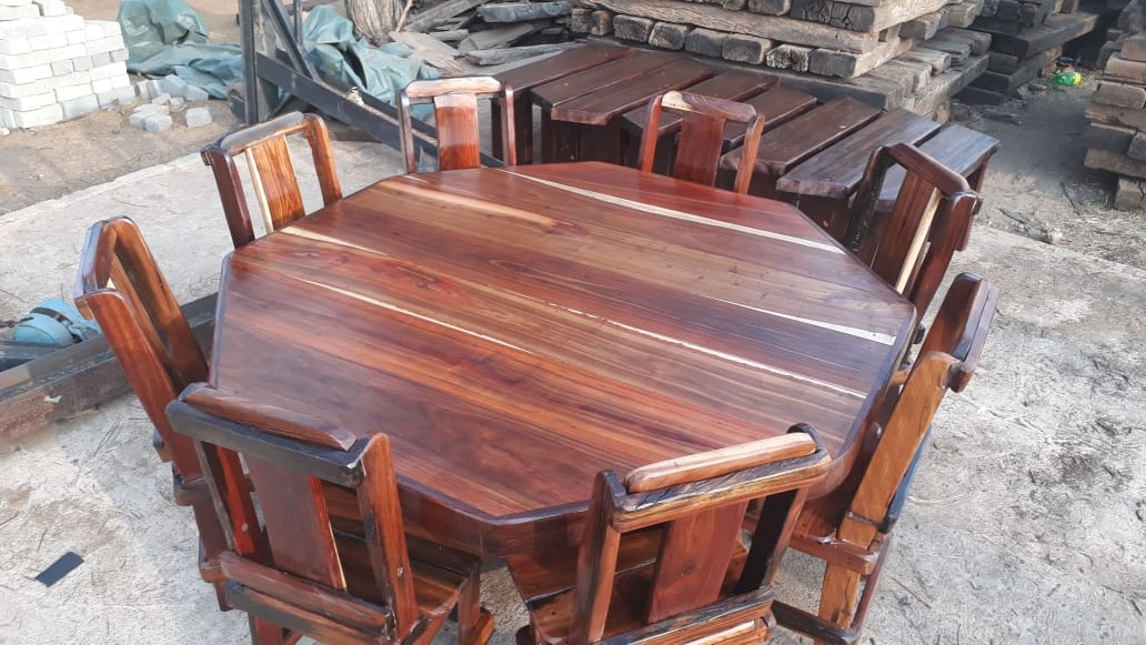 Round 8 Seater Dining room Table
