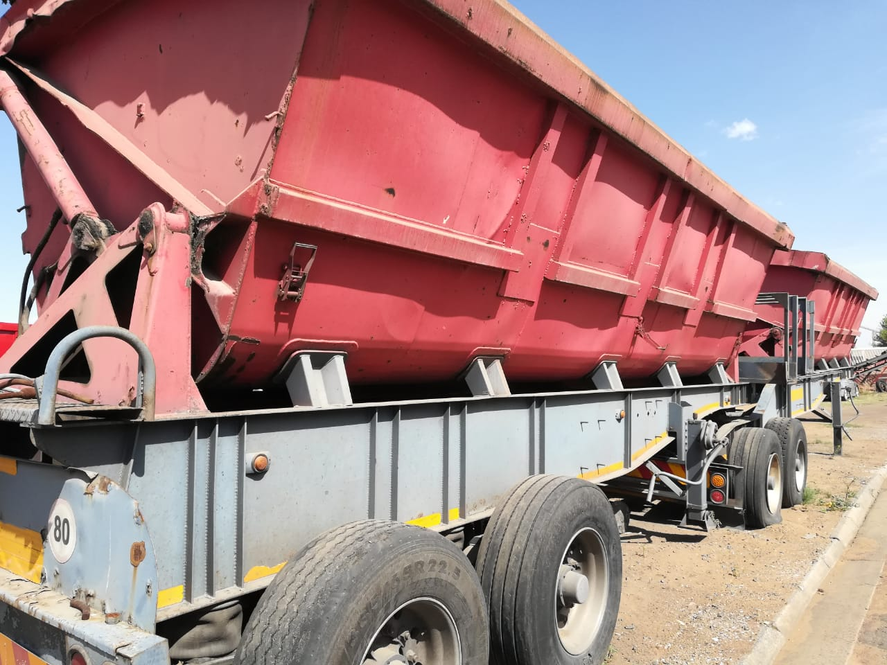 2006 Sa Truck Bodies Link Side Tipper Junk Mail