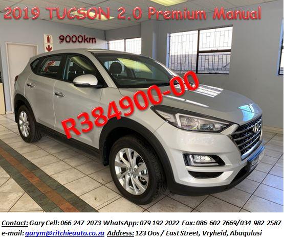 2019 Hyundai Tucson 2.0 GLS