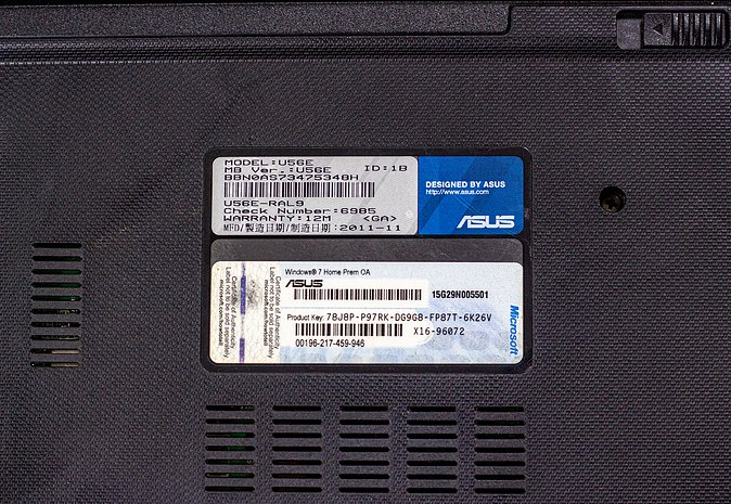 Asus U56E Notebook for Sale!