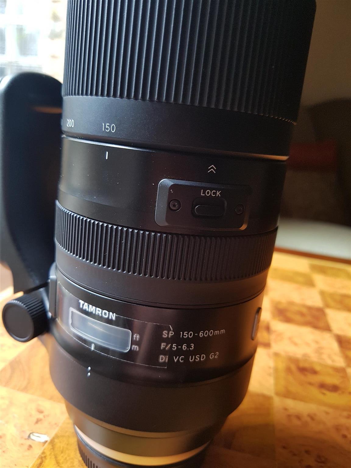 Tamron G2 Lens (150 - 600)