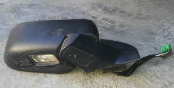 Volvo XC90   Mirror Door Rear View - Right Side    2004 to 2012