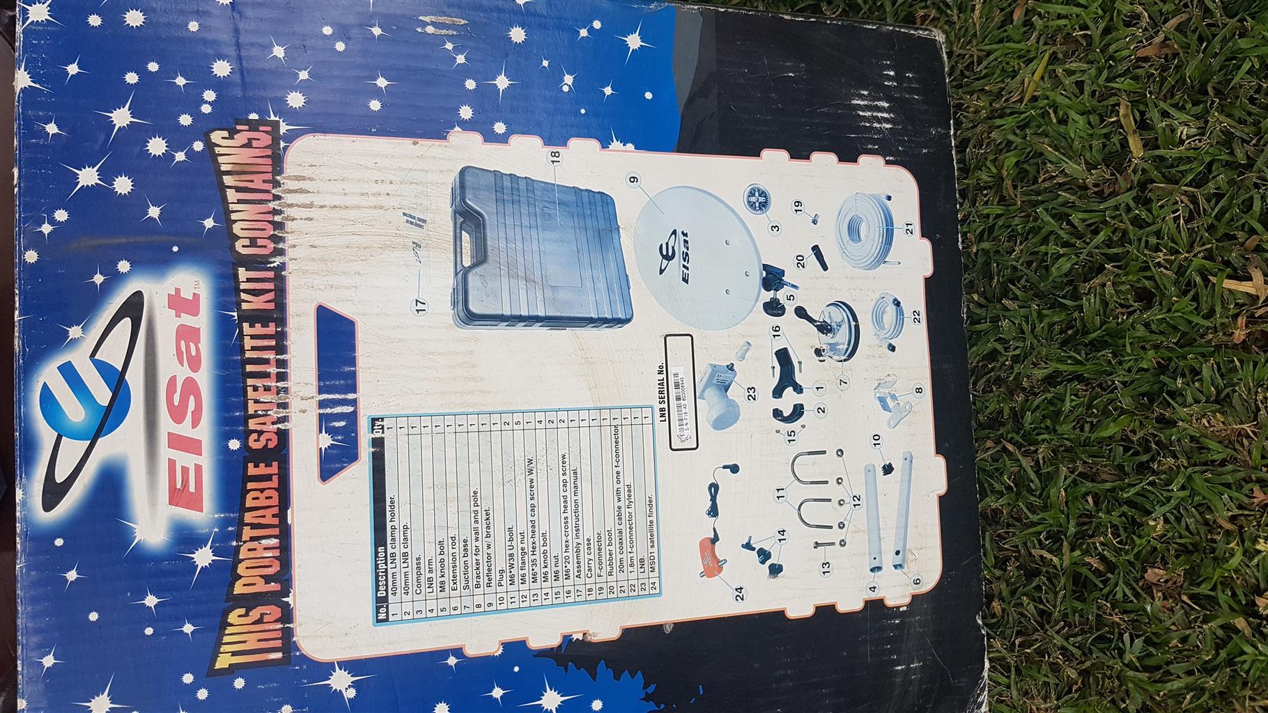 Portable Easy Satellite Kit
