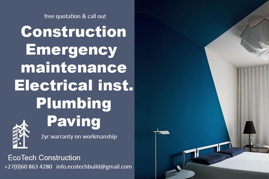 Professional builder & paving installer