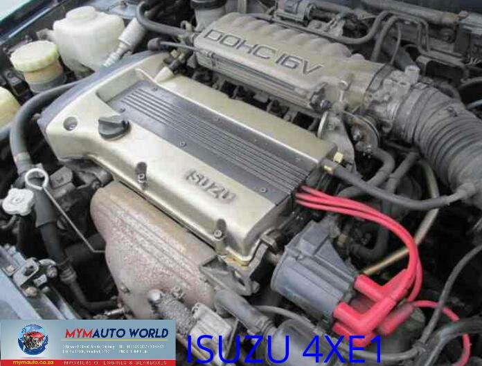 Imported used ISUZU STYLUS/IMPULSE 1.6L DOHC 16V, 4XE1 engine Complete